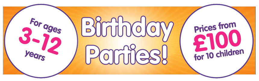 Book a DanceBugs birthday party, fun for kids aged 3-12 years!